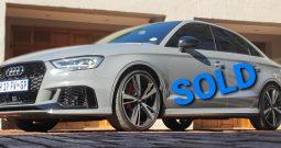 Audi, RS3, Quattro, 2018 model.